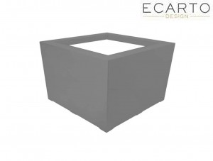 Donica CUBO - 80x80x40 ANTRACYT MAT
