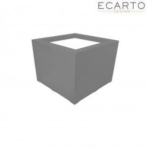 Donica CUBO - 80x80x60 ANTRACYT MAT