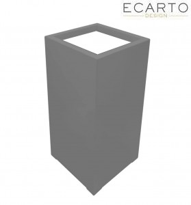 Donica  CUBO  50x50x100 SZARY MAT