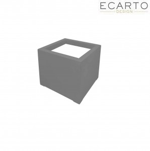 Donica  CUBO 50x50x50 SZARY MAT