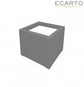 Donica  CUBO 60x60x60 SZARY MAT